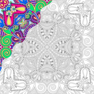 adult coloring book page - Best Coloring Book
